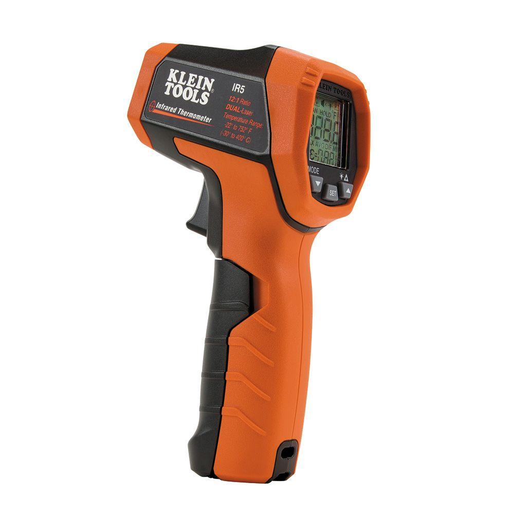 Dual-Laser Infrared Thermometer