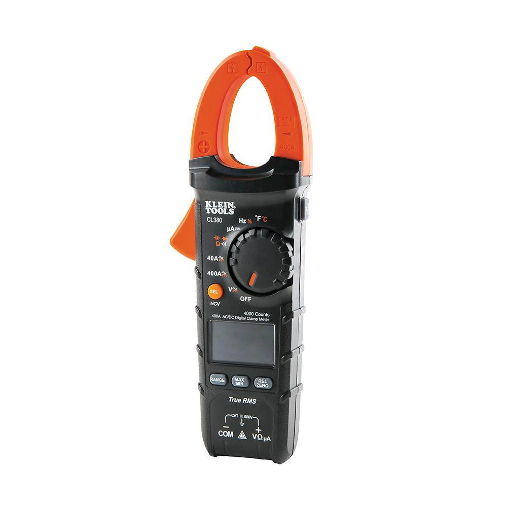 400 Amp Auto-Ranging AC/DC Digital Clamp Meter