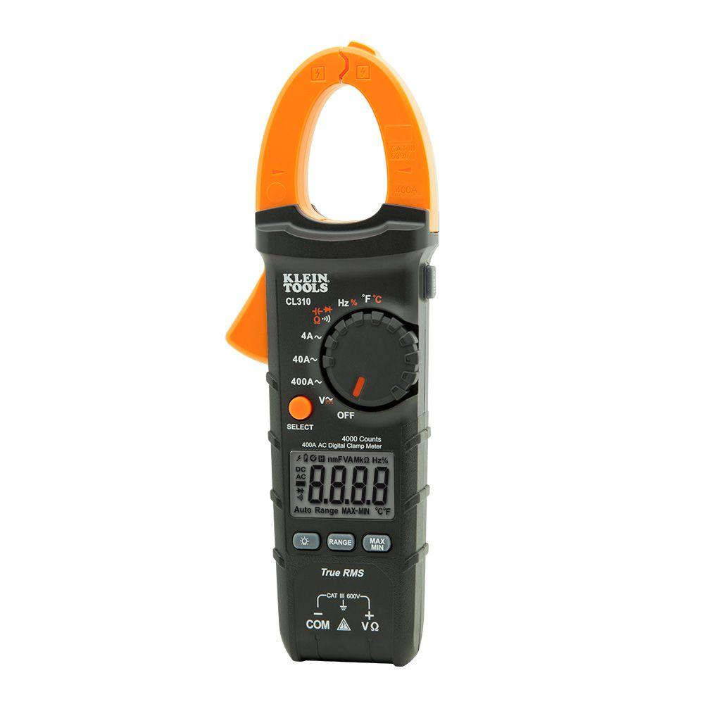 400 Amp AC True RMS Auto-Ranging Digital Clamp Meter