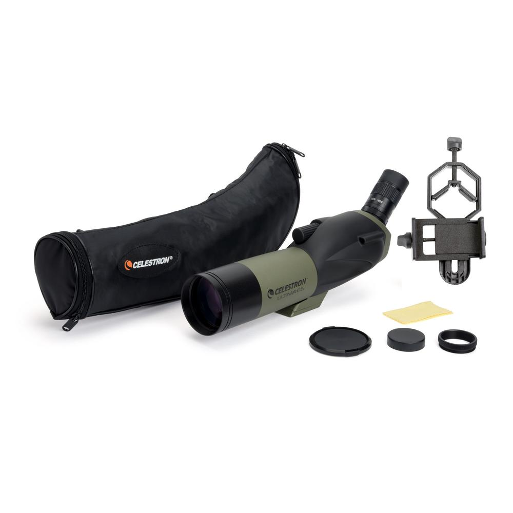 Ultima 65 45-Degree Spotting Scope with Smartphone Adapter